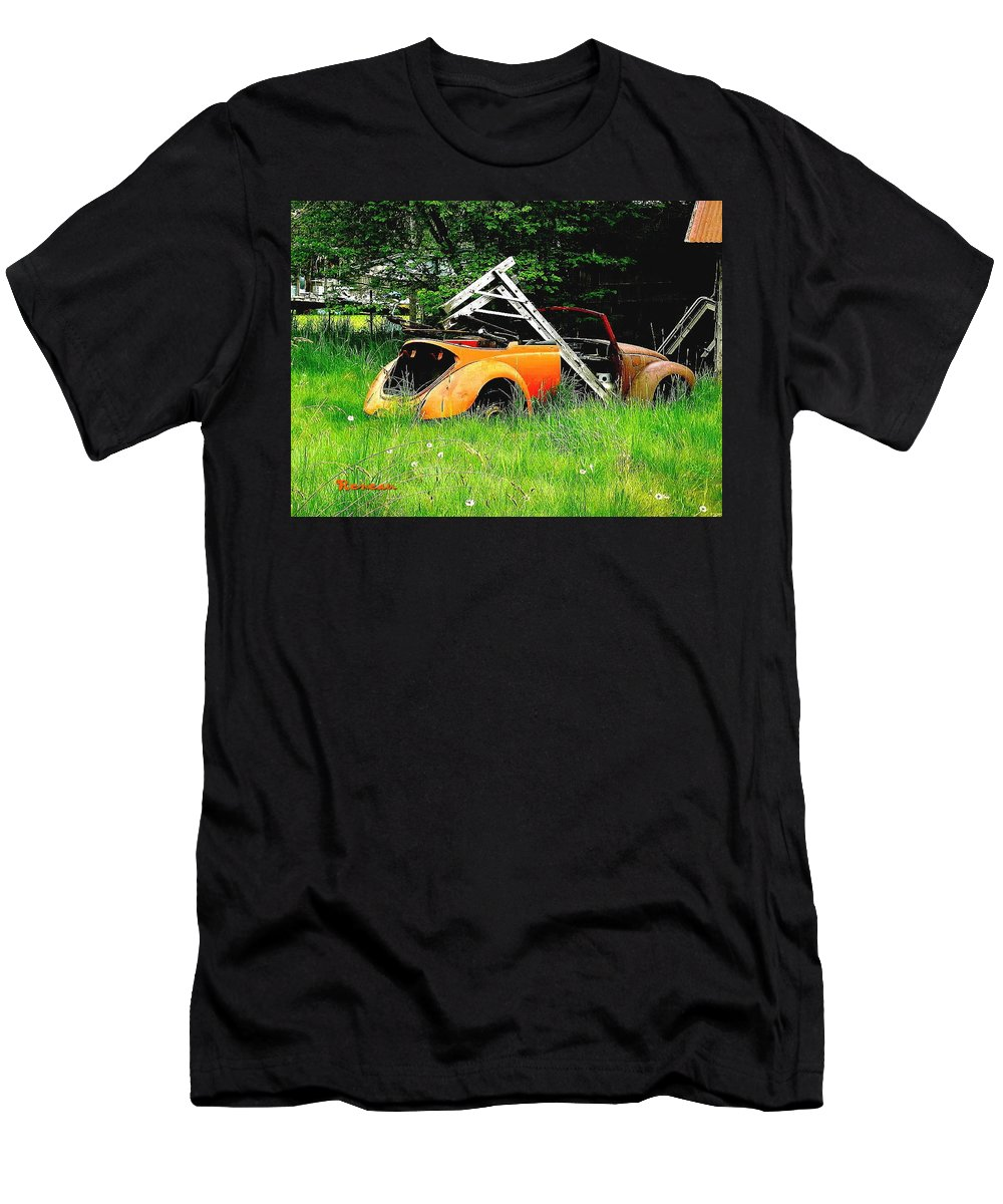 Vw Men's T-Shirt (Athletic Fit) featuring the photograph Bugsy by Sadie Reneau