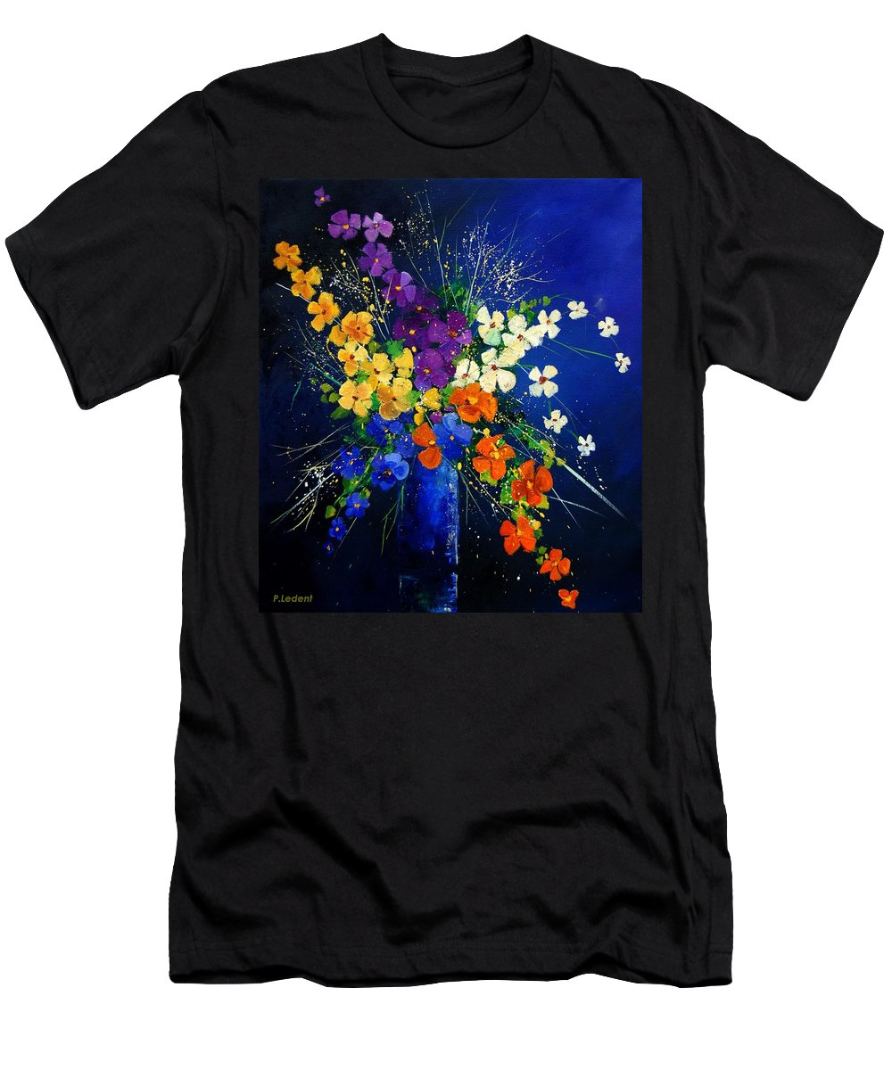 Poppies T-Shirt featuring the print Bunch 0408 by Pol Ledent