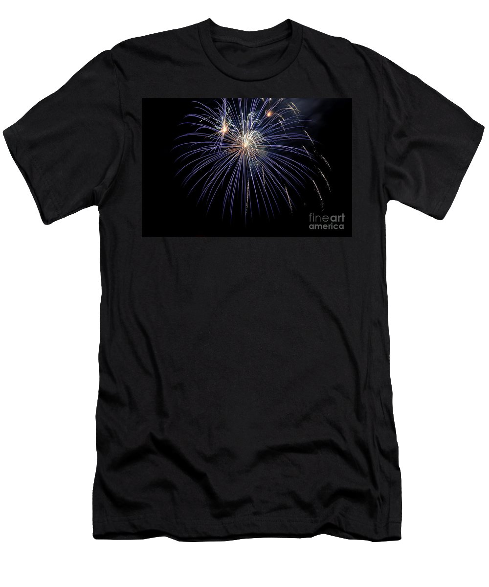 Clay Men's T-Shirt (Athletic Fit) featuring the photograph Burst by Clayton Bruster