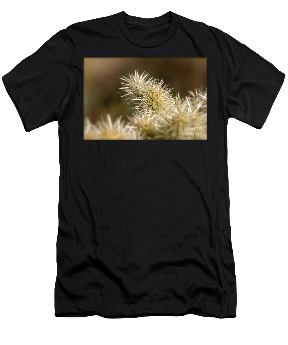 Cactus Men's T-Shirt (Athletic Fit) featuring the photograph Cacti by Nadine Rippelmeyer