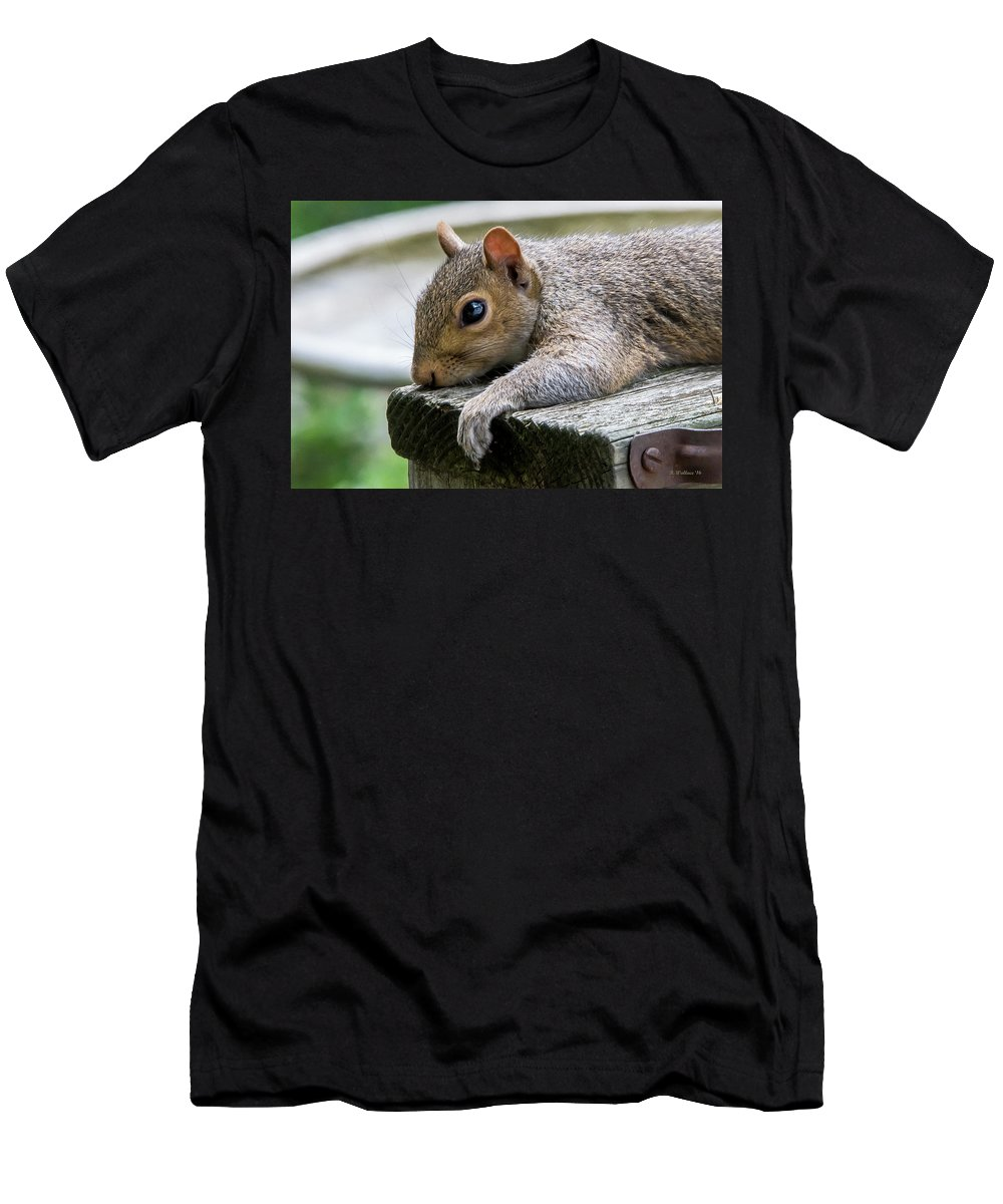 2d Men's T-Shirt (Athletic Fit) featuring the photograph Can't Take Much More Of This Heat by Brian Wallace
