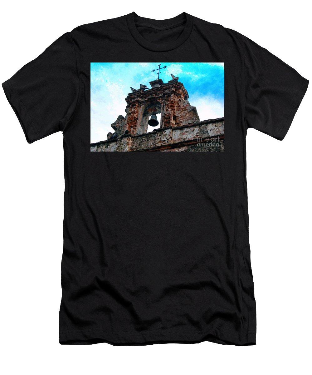 San Juan Men's T-Shirt (Athletic Fit) featuring the photograph Capilla De Cristo  by Debbi Granruth