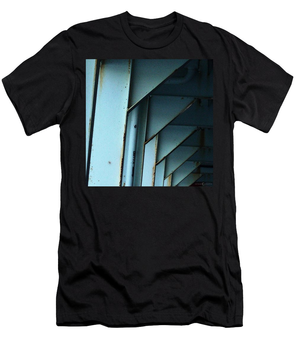 Ferry Men's T-Shirt (Athletic Fit) featuring the photograph Car Ferry by Tim Nyberg
