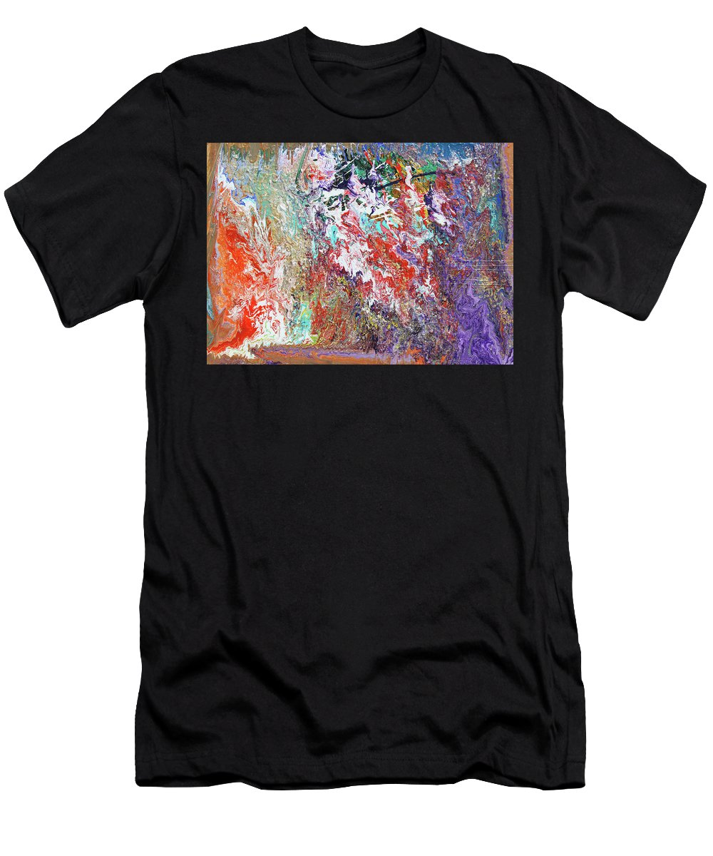 Fusionart Men's T-Shirt (Athletic Fit) featuring the painting Carnival by Ralph White