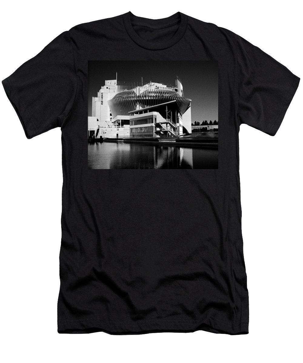 North America Men's T-Shirt (Athletic Fit) featuring the photograph Casino Montreal by Juergen Weiss