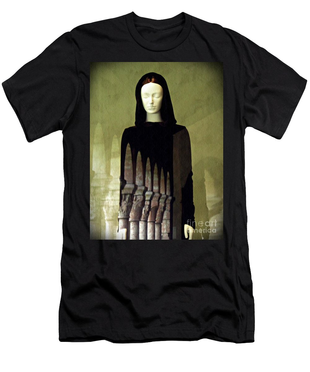 Mannequin Men's T-Shirt (Athletic Fit) featuring the photograph Catholic Imagination Fashion Show 3  by Sarah Loft