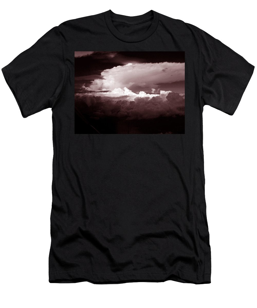 Cloud Images Men's T-Shirt (Athletic Fit) featuring the photograph Cb1.2 by Strato ThreeSIXTYFive