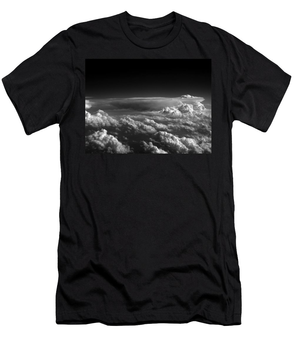 Cloud Photos Men's T-Shirt (Athletic Fit) featuring the photograph Cb3.963 by Strato ThreeSIXTYFive