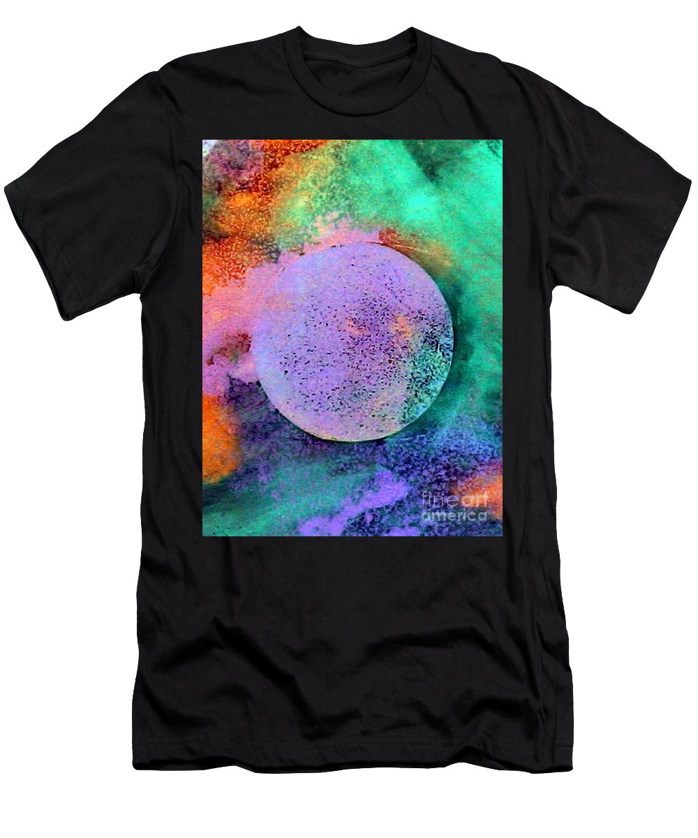 Celebration Men's T-Shirt (Athletic Fit) featuring the painting Celebration by Dawn Hough Sebaugh