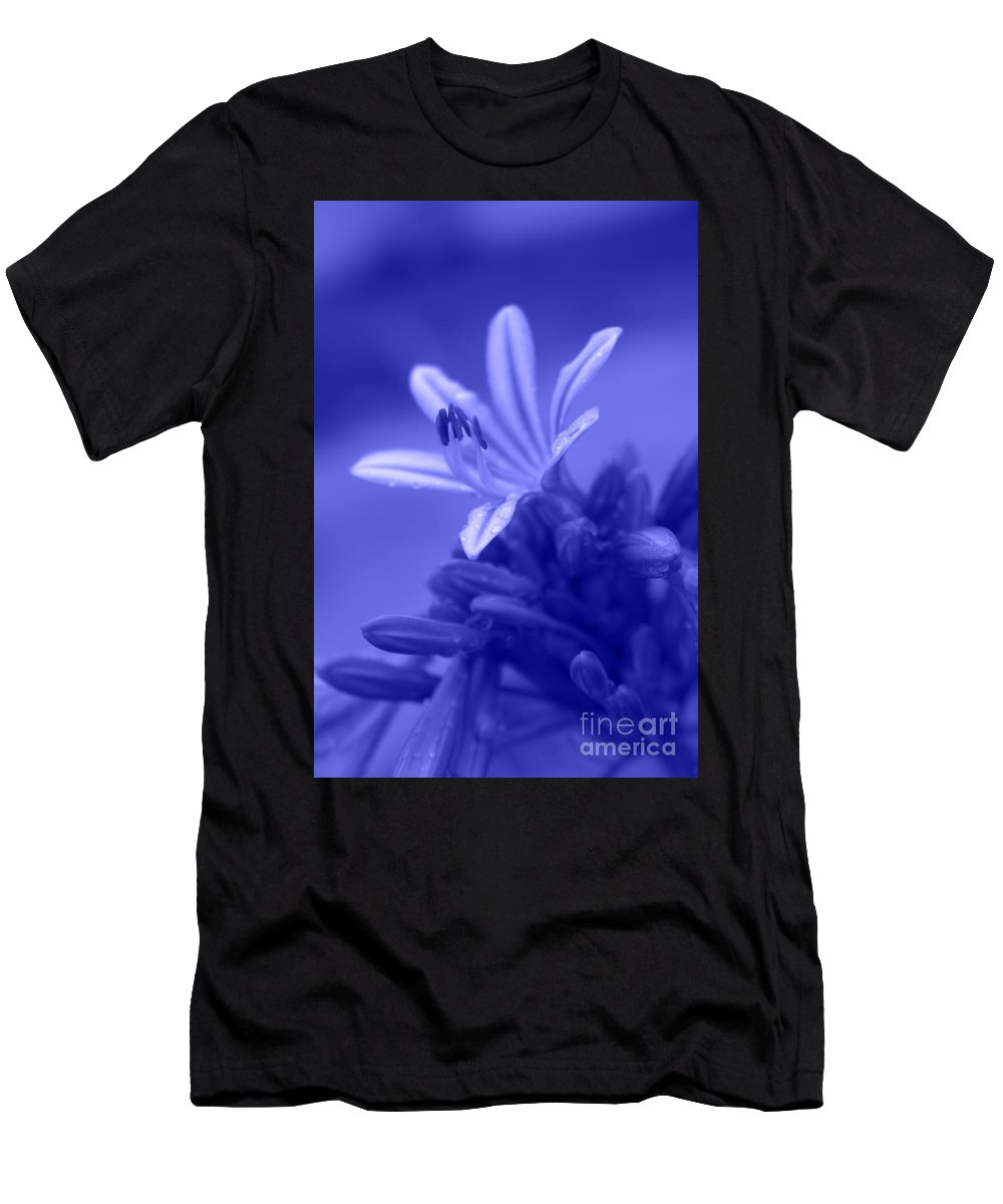 Flowers Men's T-Shirt (Athletic Fit) featuring the photograph Celestial Love by Ella Kaye Dickey