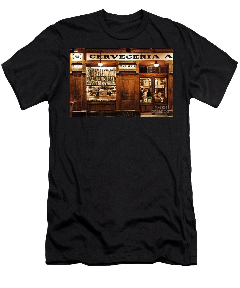Cerveceria Alemana Men's T-Shirt (Athletic Fit) featuring the photograph Cerveceria by John Greim
