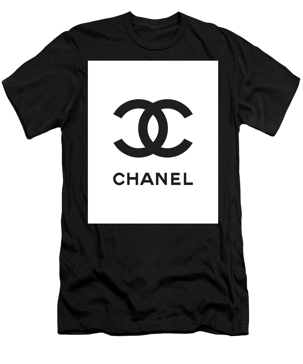 Chanel black and white 04 lifestyle and fashion t shirt for sale by tuscan afternoon