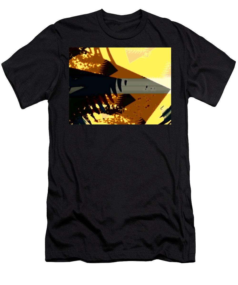 Art Digital Art Men's T-Shirt (Athletic Fit) featuring the digital art Change - Leaf14 by Alex Porter