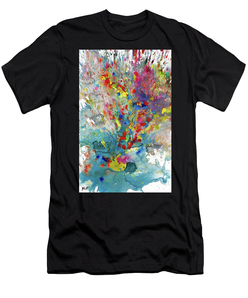 Chaotic Craziness Playful Whimsical Painting Abstract Expressionism Painting Original Symbol Painting Abstract Original Painting Painting Paintings Abstract Painting Paintings Paintings Modern Art Paintings Paintings Expressionism Paintings Paintings Painting Canvas Prints Painting Iphone Cases Paintings Canvas Prints Paintings Iphone Cases Abstract Painting Paintings Canvas Prints Giclee Print Painting Expressive Painting Print Men's T-Shirt (Athletic Fit) featuring the painting Chaotic Craziness Series 1987.032914 by Kris Haas
