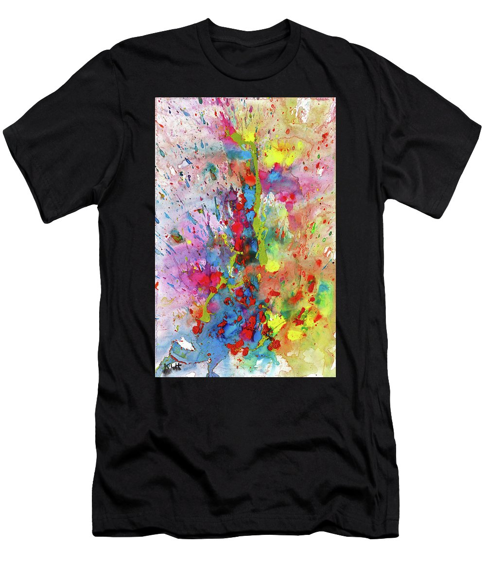 Chaotic Craziness Playful Whimsical Painting Abstract Expressionism Painting Original Symbol Painting Abstract Original Painting Painting Paintings Abstract Painting Paintings Paintings Modern Art Paintings Paintings Expressionism Paintings Paintings Painting Canvas Prints Painting Iphone Cases Paintings Canvas Prints Paintings Iphone Cases Abstract Painting Paintings Canvas Prints Giclee Print Painting Expressive Painting Print Men's T-Shirt (Athletic Fit) featuring the painting Chaotic Craziness Series 1988.033014 by Kris Haas