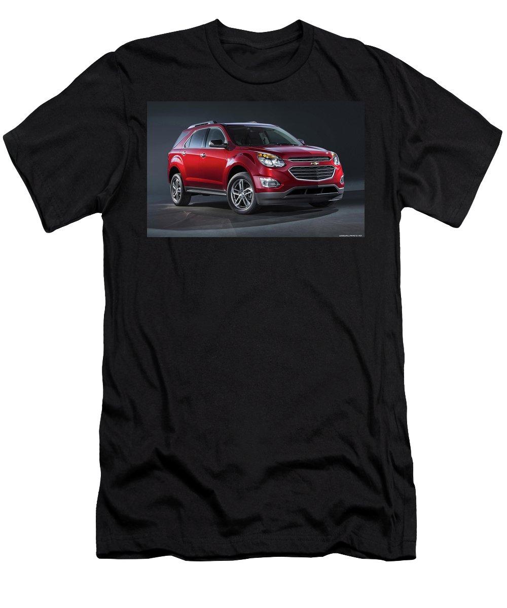Chevrolet Equinox Ltz 120x1200 001 Men's T-Shirt (Athletic Fit) featuring the digital art Chevrolet Equinox Ltz 2016 1920x1200 001 by Rose Lynn