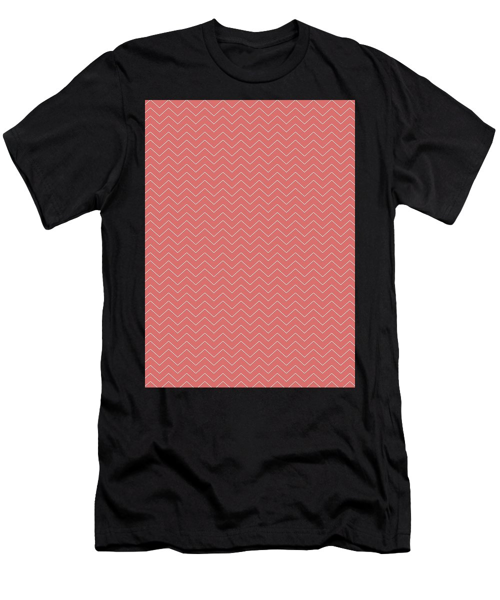 Abstract Men's T-Shirt (Athletic Fit) featuring the photograph Chevron by Bill Owen