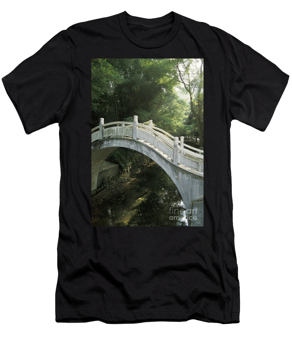 Arch Men's T-Shirt (Athletic Fit) featuring the photograph China, Guilin by Larry Dale Gordon - Printscapes