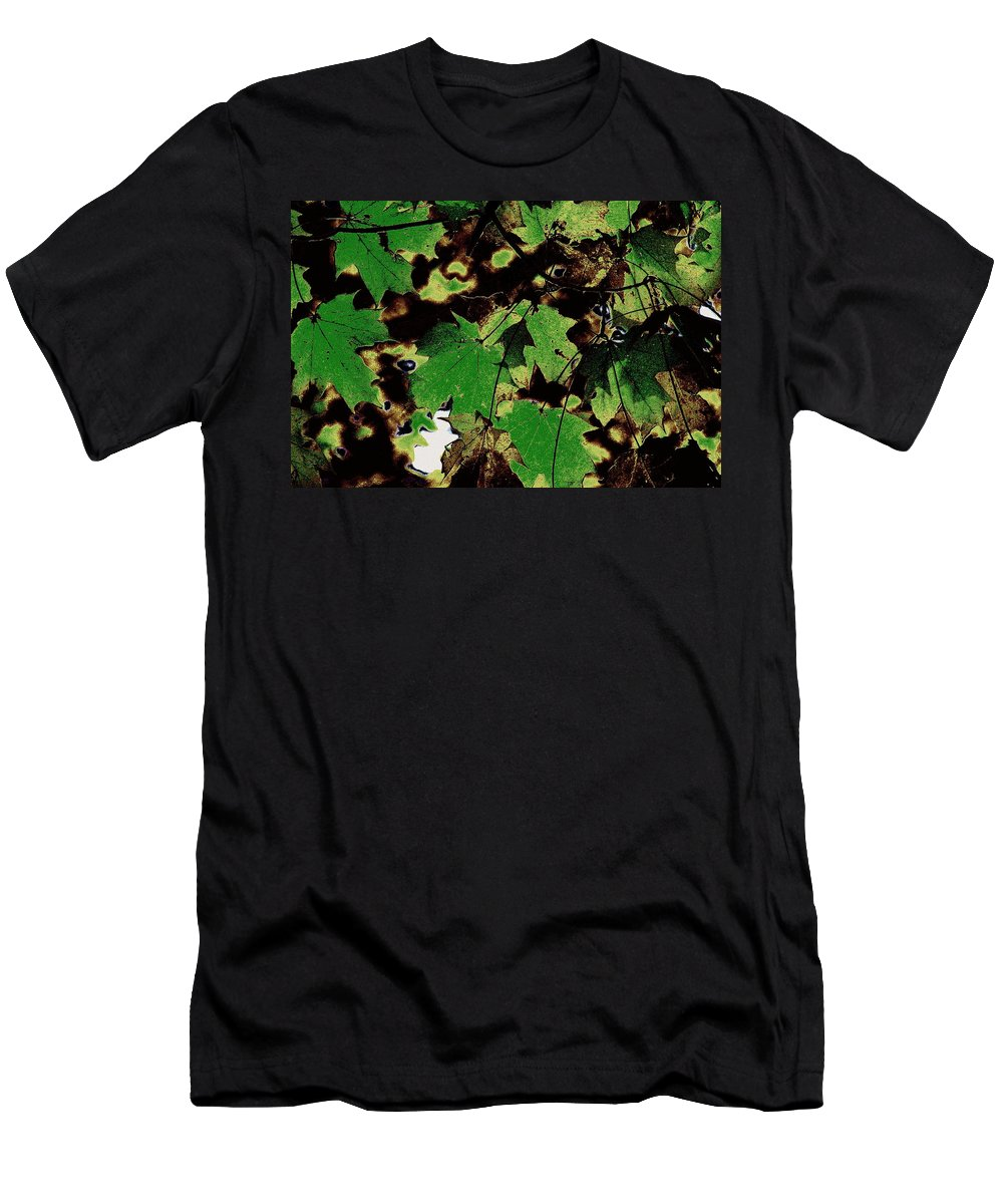 Landscape Men's T-Shirt (Athletic Fit) featuring the photograph Chocolate Pudding by Ed Smith