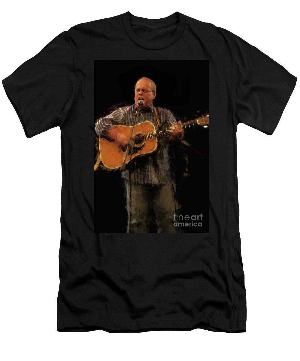 Chris Westcott Men's T-Shirt (Athletic Fit) featuring the photograph Chris Westcott R1 8778v by Doug Berry