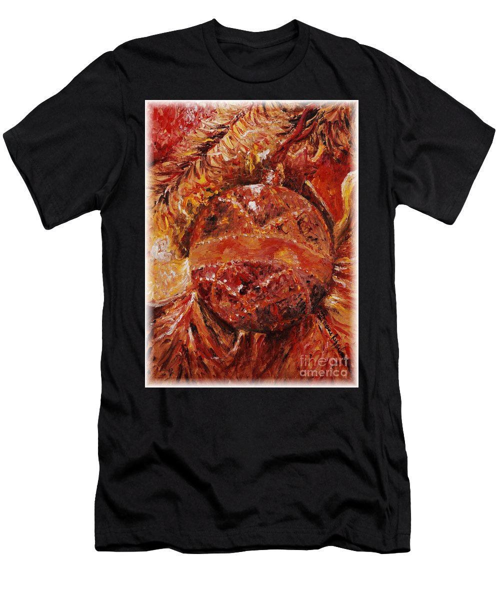 Christmas Men's T-Shirt (Athletic Fit) featuring the painting Christmas Glitter by Nadine Rippelmeyer