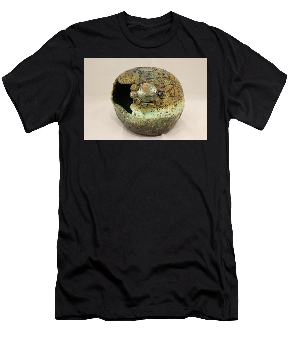 Ceramic Men's T-Shirt (Athletic Fit) featuring the ceramic art Circles by Chase Berry