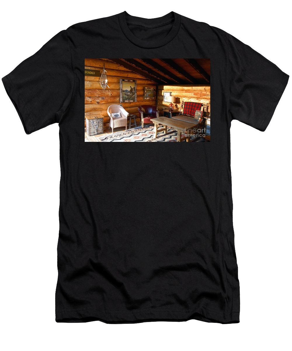 Adirondack Men's T-Shirt (Athletic Fit) featuring the photograph Classic Adirondack by David Lee Thompson