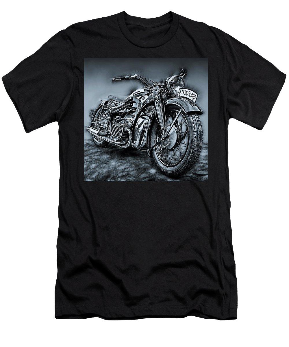Bike Men's T-Shirt (Athletic Fit) featuring the photograph Classic Bike by Joachim G Pinkawa