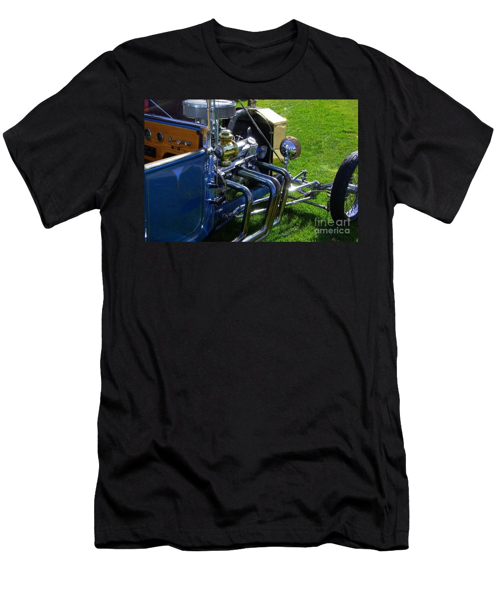 Ford Hotrod Men's T-Shirt (Athletic Fit) featuring the photograph Classic Ford Hotrod by Mary Deal