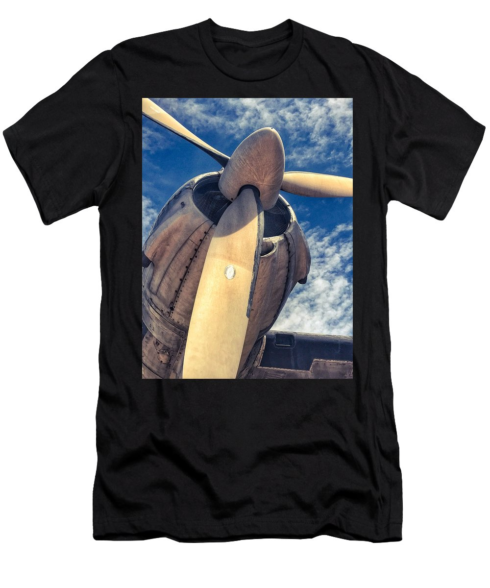 Aviation Men's T-Shirt (Athletic Fit) featuring the photograph Classic by Roxy S