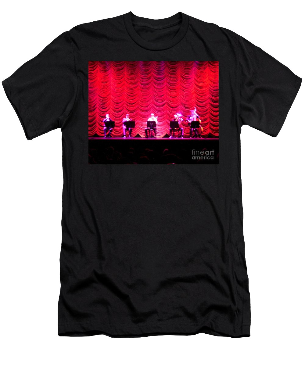 Classical Men's T-Shirt (Athletic Fit) featuring the photograph Classical Quintet by Sherry Oliver