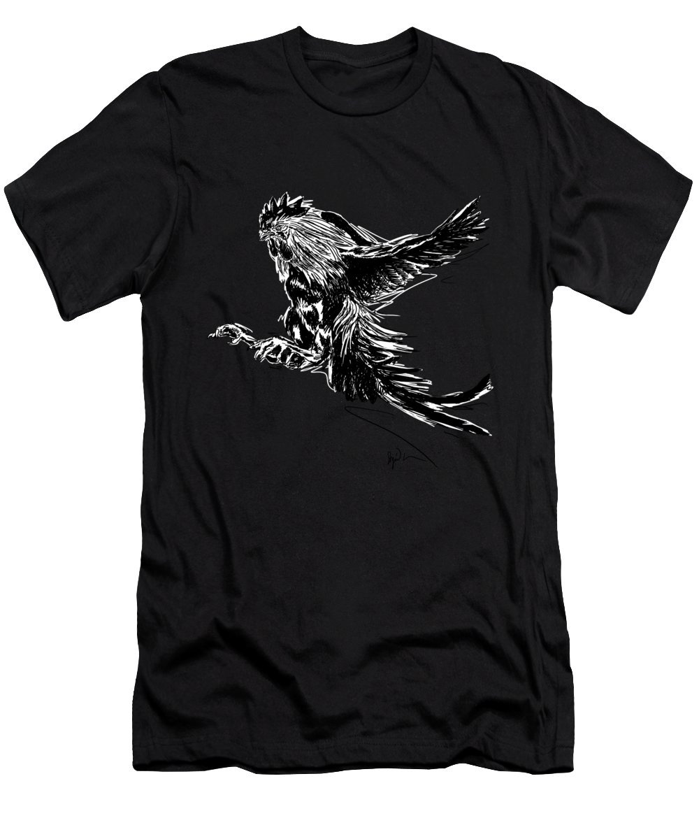 Whores cock fighting t shirt angels