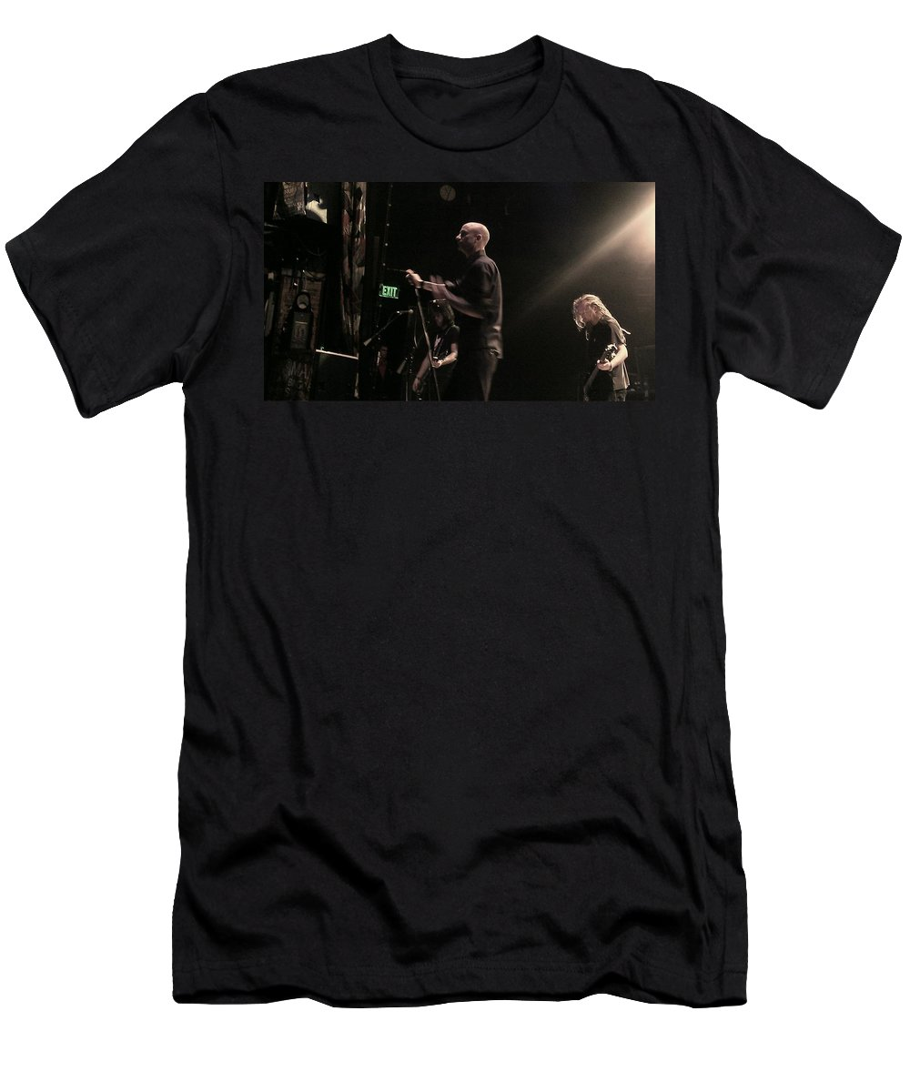 Band Men's T-Shirt (Athletic Fit) featuring the photograph Cold Hob 2 by Stephanie Haertling
