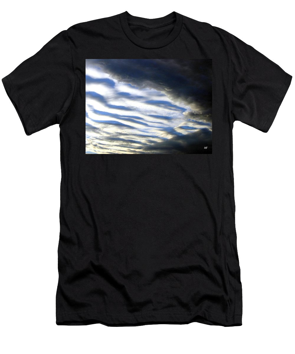 Storm Clouds Men's T-Shirt (Athletic Fit) featuring the photograph Collision by Will Borden