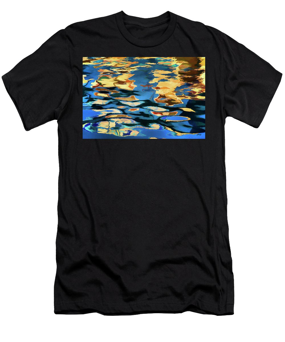 Abstract Men's T-Shirt (Athletic Fit) featuring the photograph Color Abstraction Lxix by David Gordon