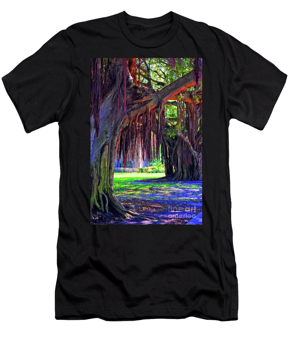 Color Men's T-Shirt (Athletic Fit) featuring the photograph Color Of Nature by Jost Houk