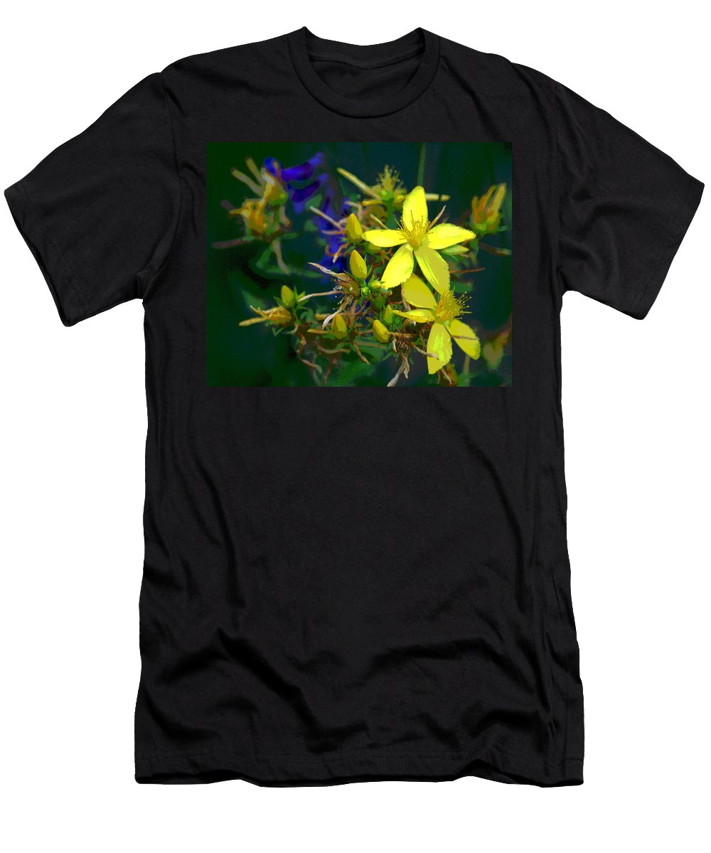 Flowers Men's T-Shirt (Athletic Fit) featuring the photograph Colorful Wonder by Ben Upham III