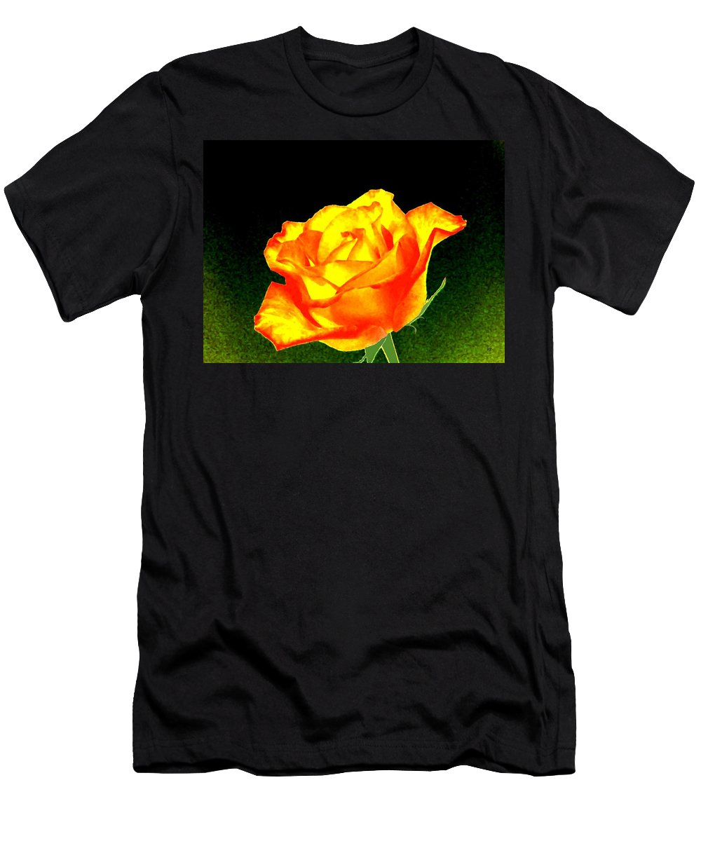 Photo Design Men's T-Shirt (Athletic Fit) featuring the digital art Colormax 4 by Will Borden