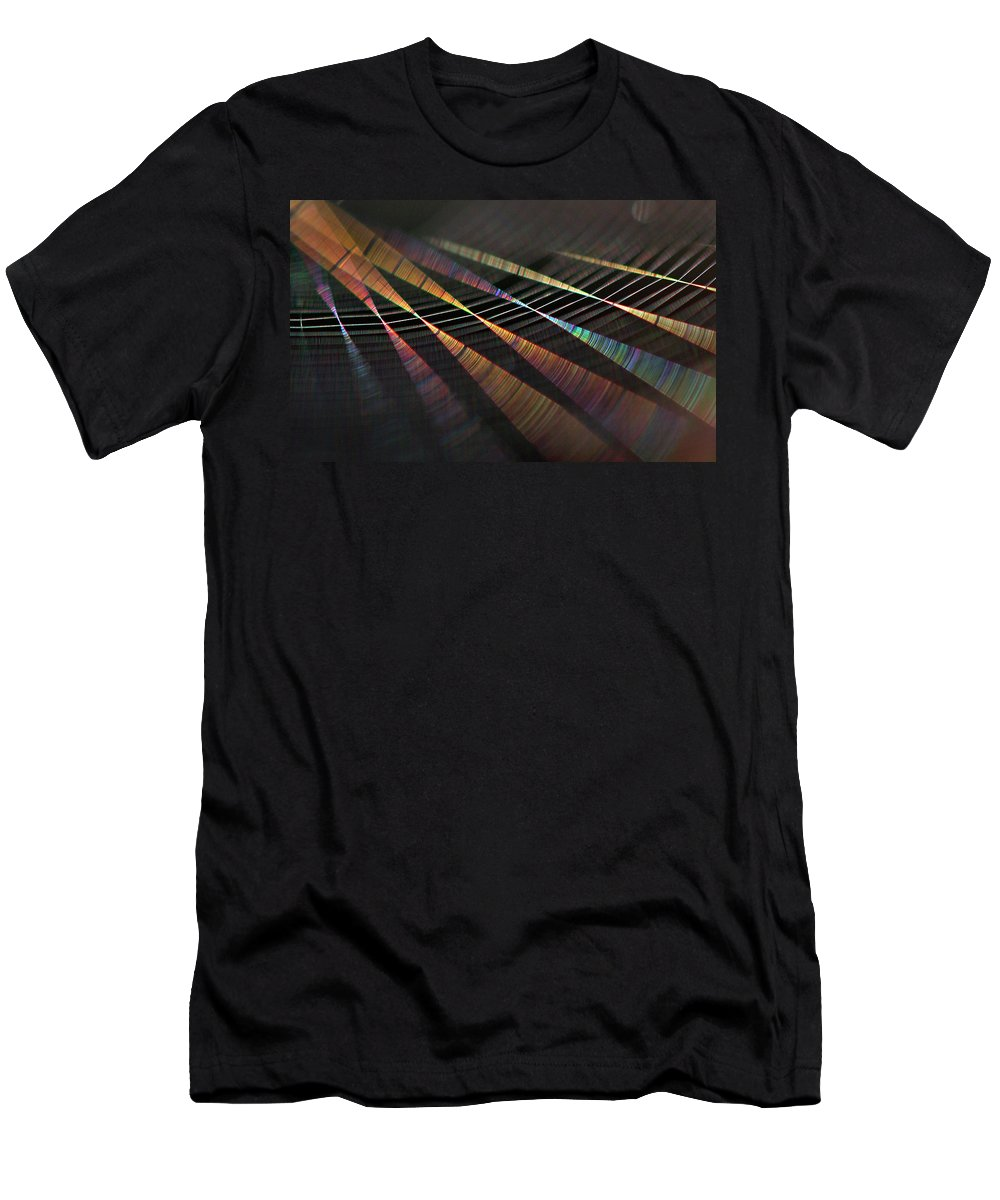 Spectrum Men's T-Shirt (Athletic Fit) featuring the photograph Colors Of Music by Raviprakash SS