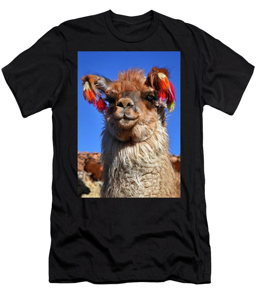 Como Se Llama Men's T-Shirt (Athletic Fit) featuring the photograph Como Se Llama by Skip Hunt