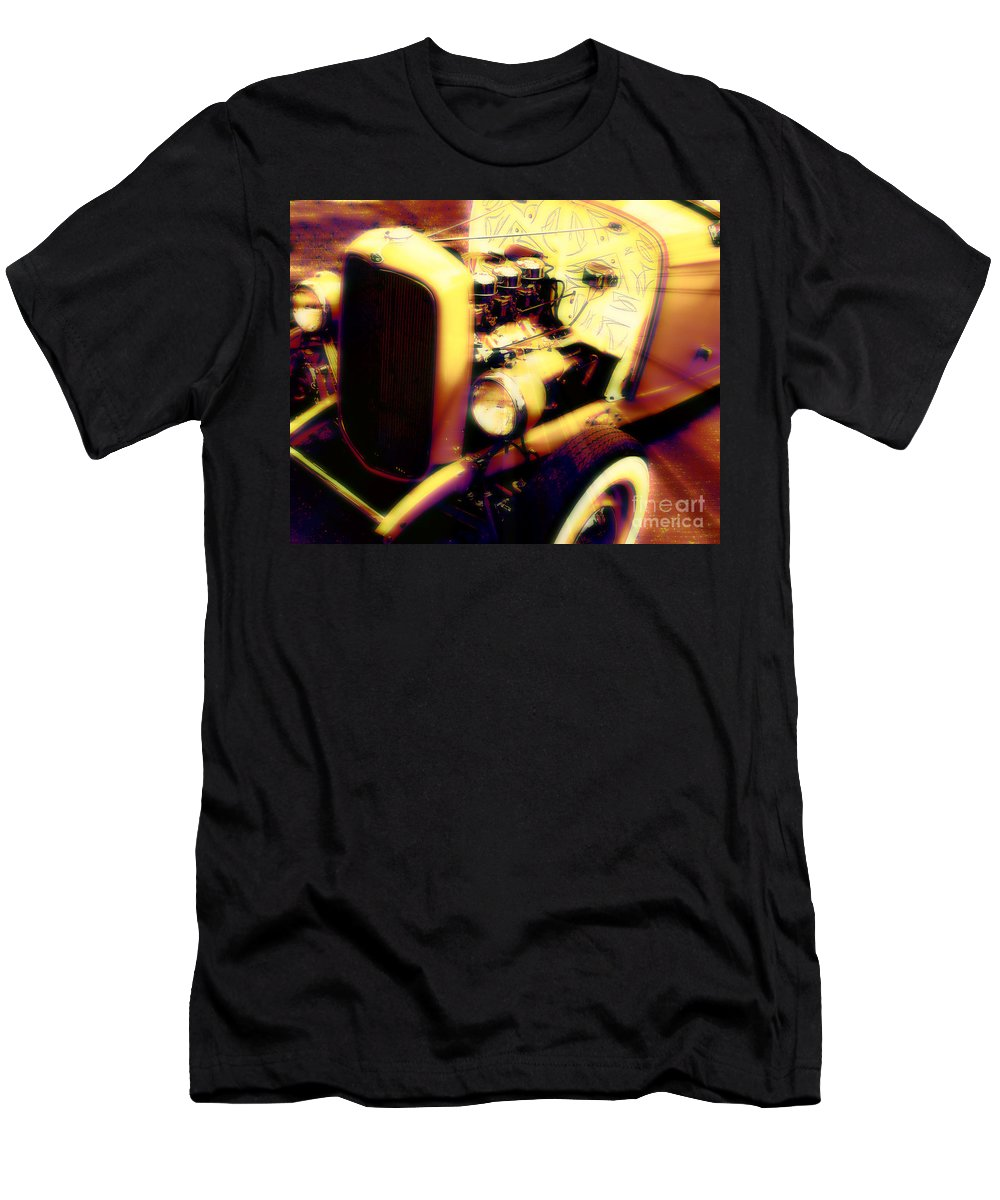 Car Men's T-Shirt (Athletic Fit) featuring the photograph Cool Ride by Perry Webster