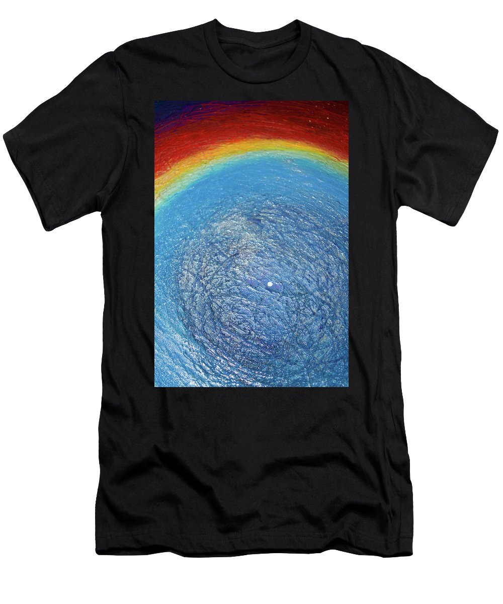 Cosmos Men's T-Shirt (Athletic Fit) featuring the photograph Cosmos Artography 560031 by E Lee Wilson Jr
