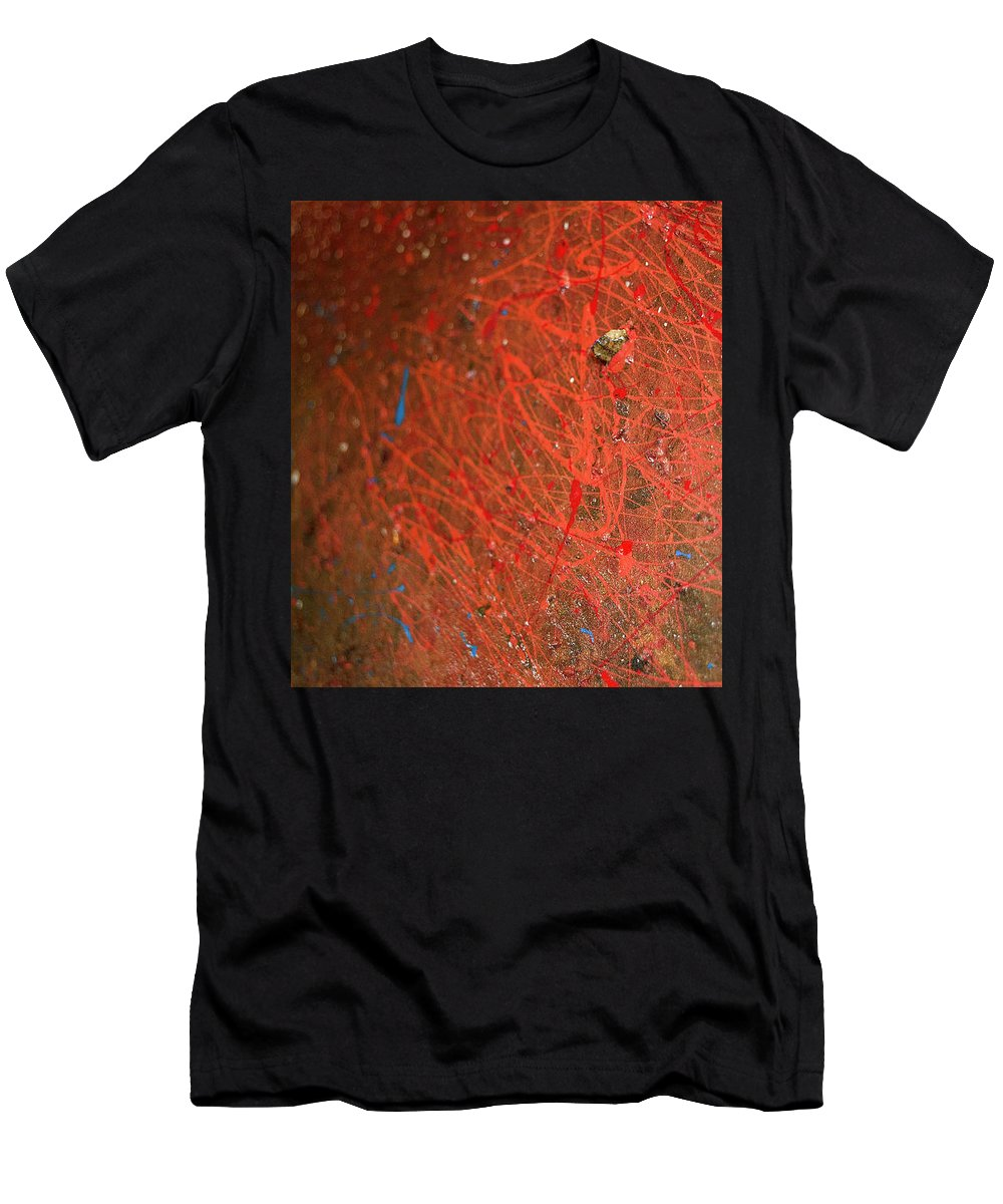 Cosmos Men's T-Shirt (Athletic Fit) featuring the photograph Cosmos Artography 560044 by E Lee Wilson Jr