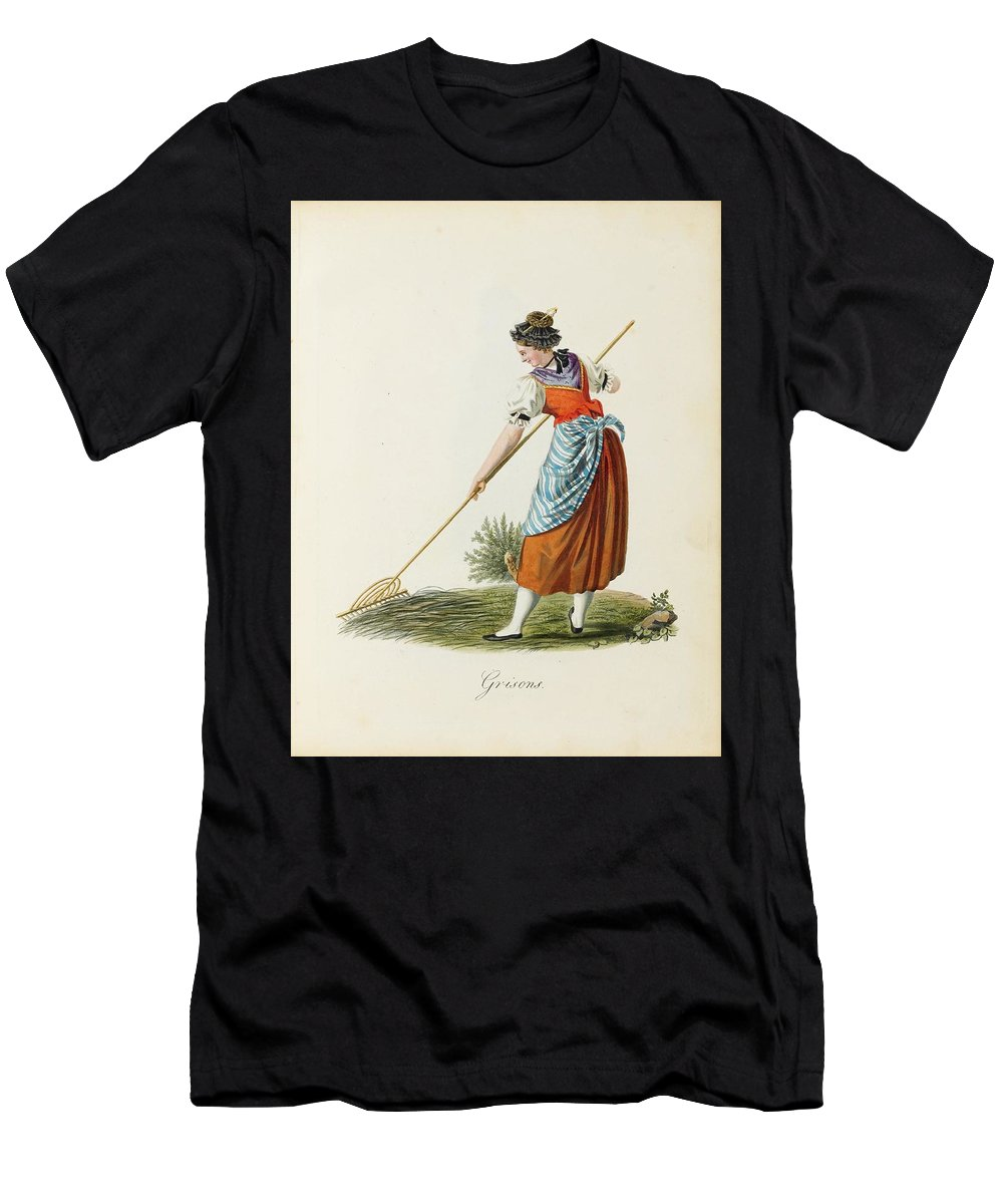 Costumes And Costumes - Meyer Men's T-Shirt (Athletic Fit) featuring the painting Costumes And Costumes by MotionAge Designs