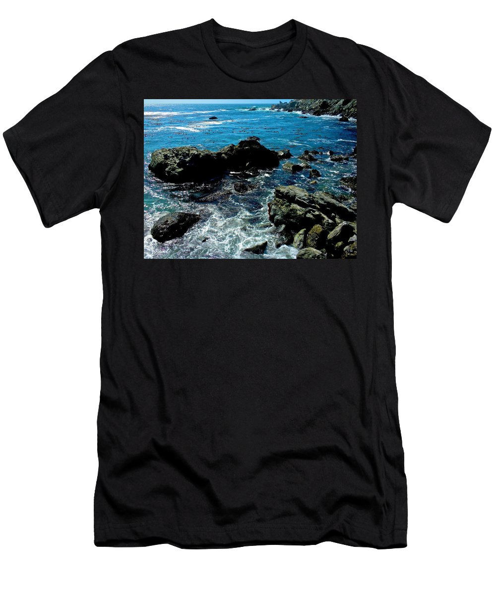 California Men's T-Shirt (Athletic Fit) featuring the photograph Cove by Dale Chapel