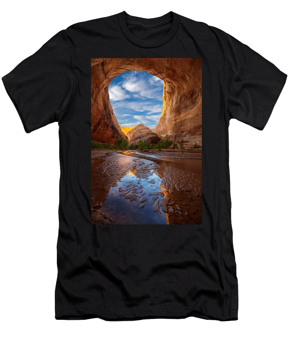 Utah Men's T-Shirt (Athletic Fit) featuring the photograph Coyote Gulch by Dustin LeFevre