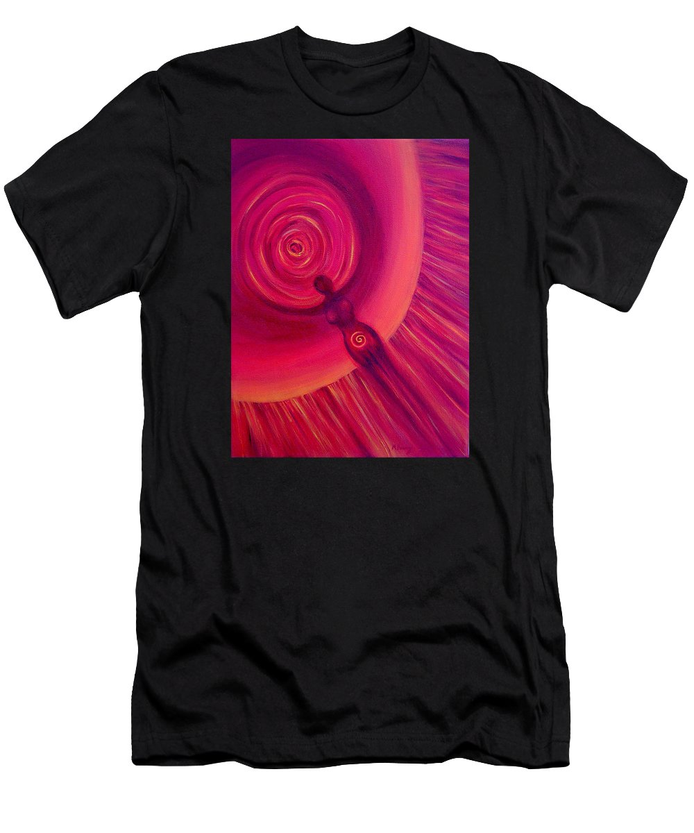 Original Men's T-Shirt (Athletic Fit) featuring the painting Creativity by Melissa Joyfully