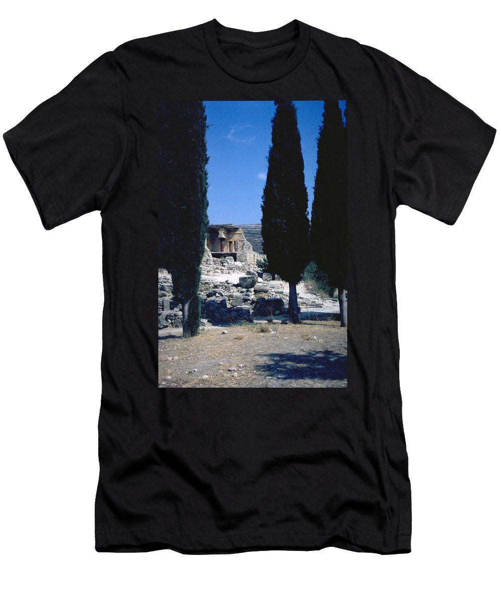 Crete Men's T-Shirt (Athletic Fit) featuring the photograph Crete by Flavia Westerwelle