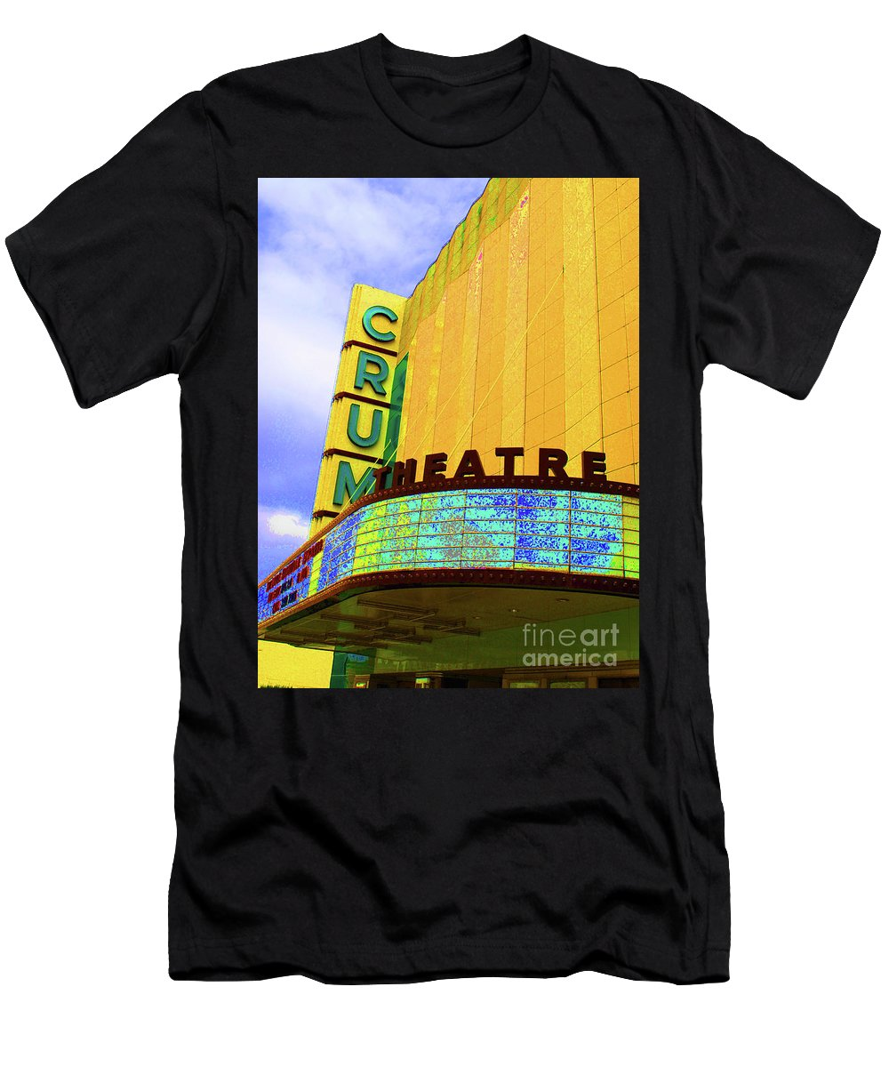 Crump Men's T-Shirt (Athletic Fit) featuring the photograph Crum Of The Crump by Jost Houk