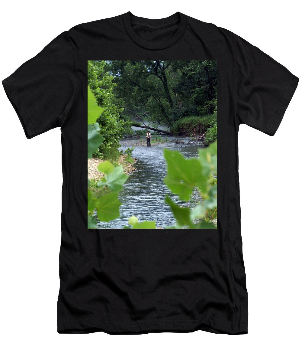 Current River T-Shirt featuring the photograph Current River 5 by Marty Koch